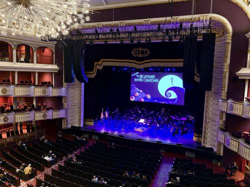 Seating view for The Met Philadelphia Section Loge 2 Row A Seat 11