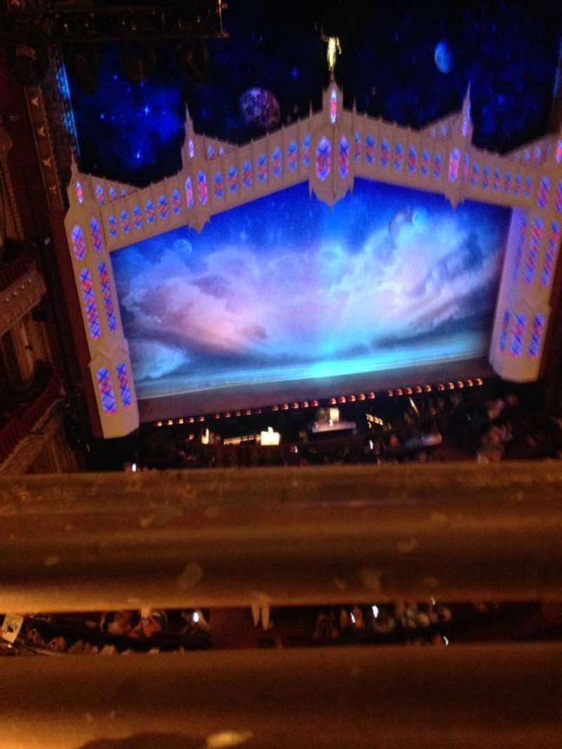 Seating view for CIBC Theatre Section Balcony LC Row A Seat 415