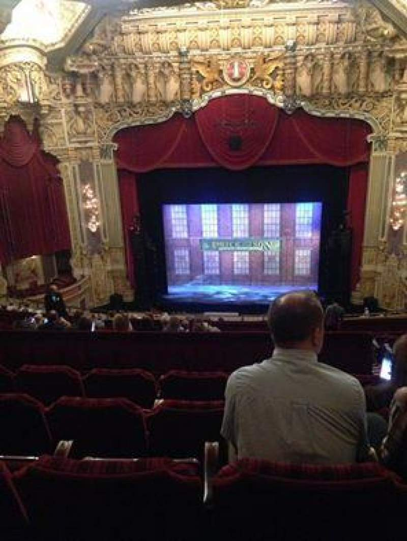 Seating view for Oriental Theatre Section BALC-C Row R Seat 309