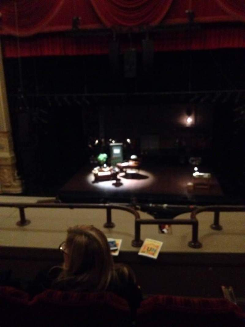 Seating view for Nederlander Theatre (Chicago) Section LOGE C Row C Seat 310