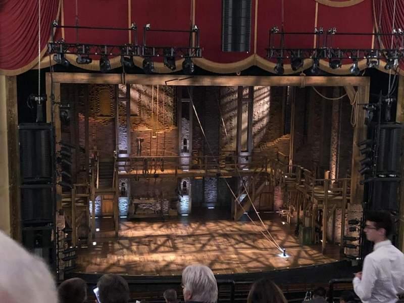 Seating view for Boston Opera House Section MEZZLC Row F Seat 117