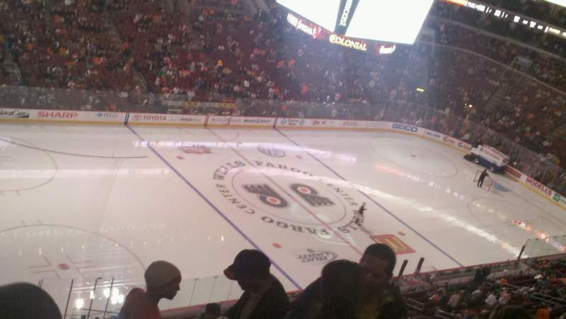 Seating view for Wells Fargo Center Section 224