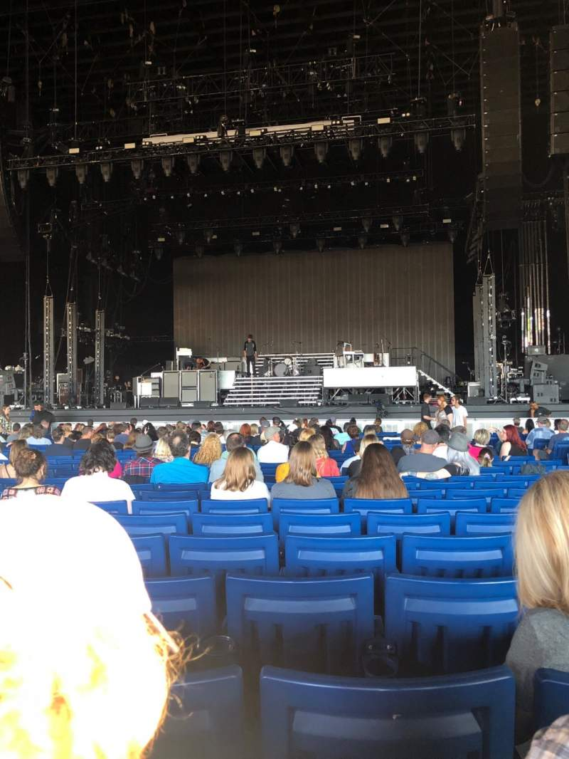 Seating view for Sunlight Supply Amphitheater Section 102 Row Y Seat 10