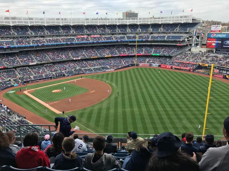 Seating view for Yankee Stadium Section 409 Row 8 Seat 14