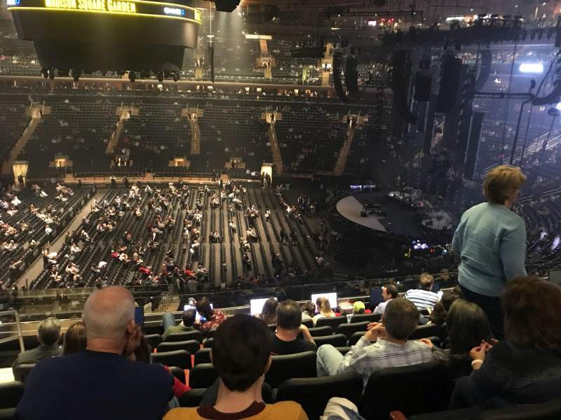 Madison Square Garden, section: 212, row: 8, seat: 2