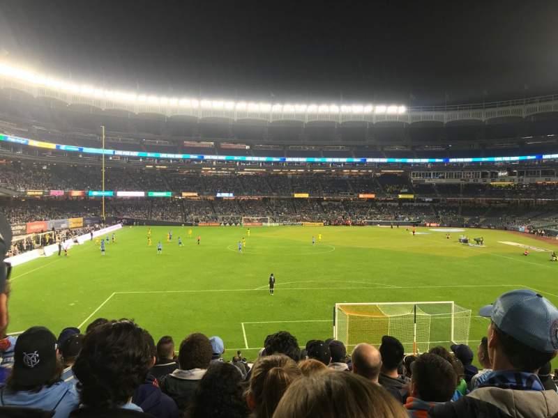 Seating view for Yankee Stadium