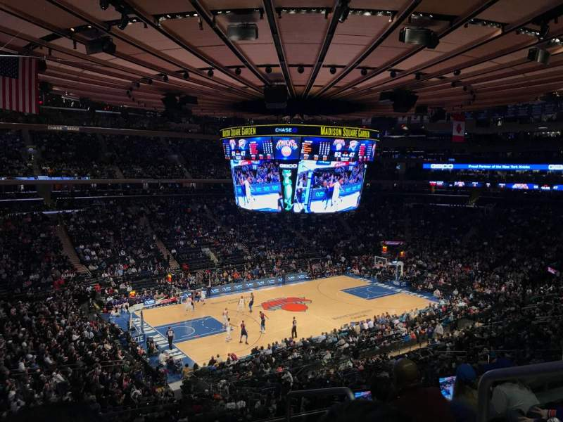 Madison Square Garden: Madison Square Garden, Section 221, Home Of New York