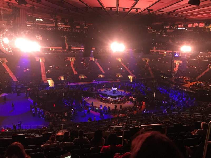 Madison Square Garden: Madison Square Garden, Section 209, Home Of New York