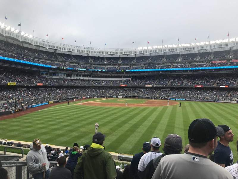Seating view for Yankee Stadium Section 203 Row 8 Seat 16