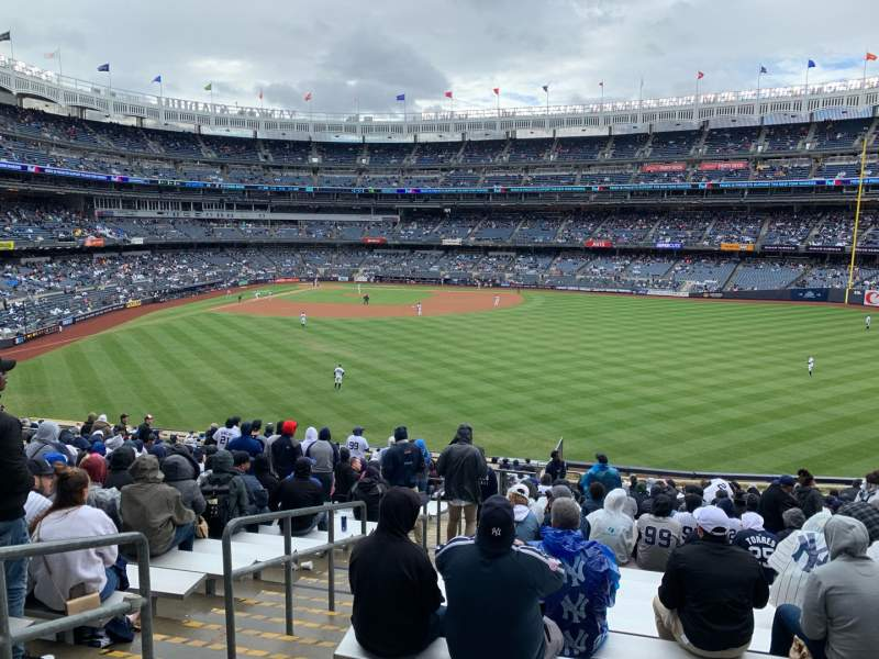 Seating view for Yankee Stadium Section 202 Row 24 Seat 38
