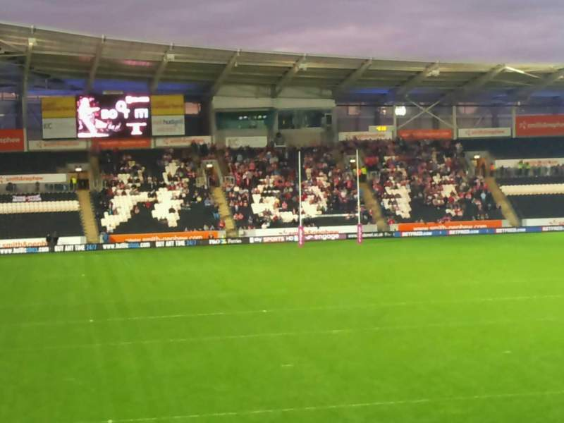 Seating view for Craven Park, Hull Section South
