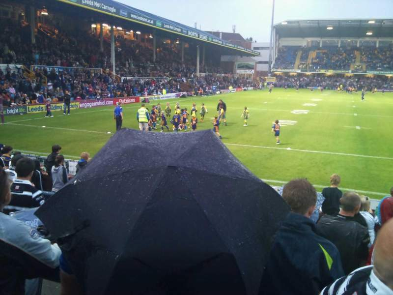 Seating view for Headingley Stadium Section West