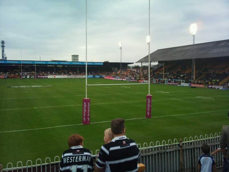 Seating view for The Jungle, Castleford
