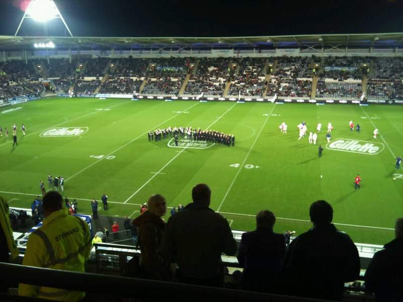Seating view for Craven Park, Hull Section upper 4 Row j Seat 103