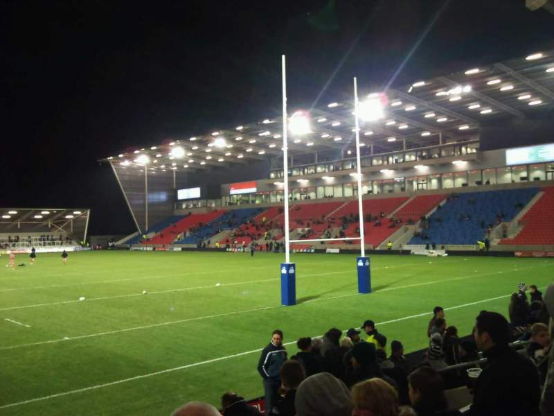 Seating view for AJ Bell Stadium