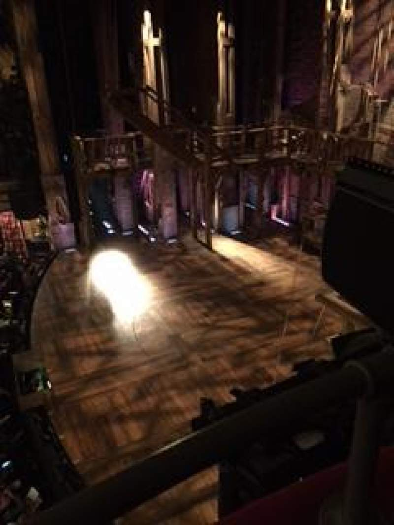 Seating view for richard rodgers theatre Section Box G Seat 1