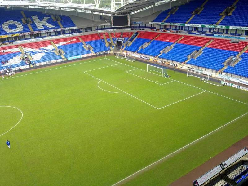 Seating view for University of Bolton Stadium