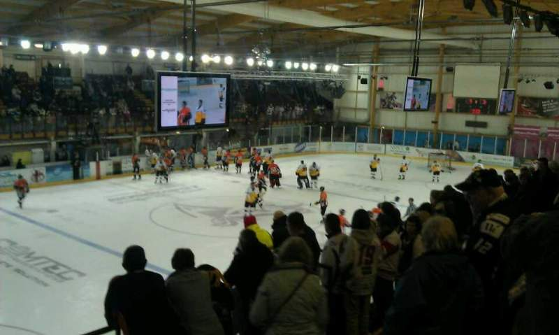 Seating view for Altrincham Ice Dome