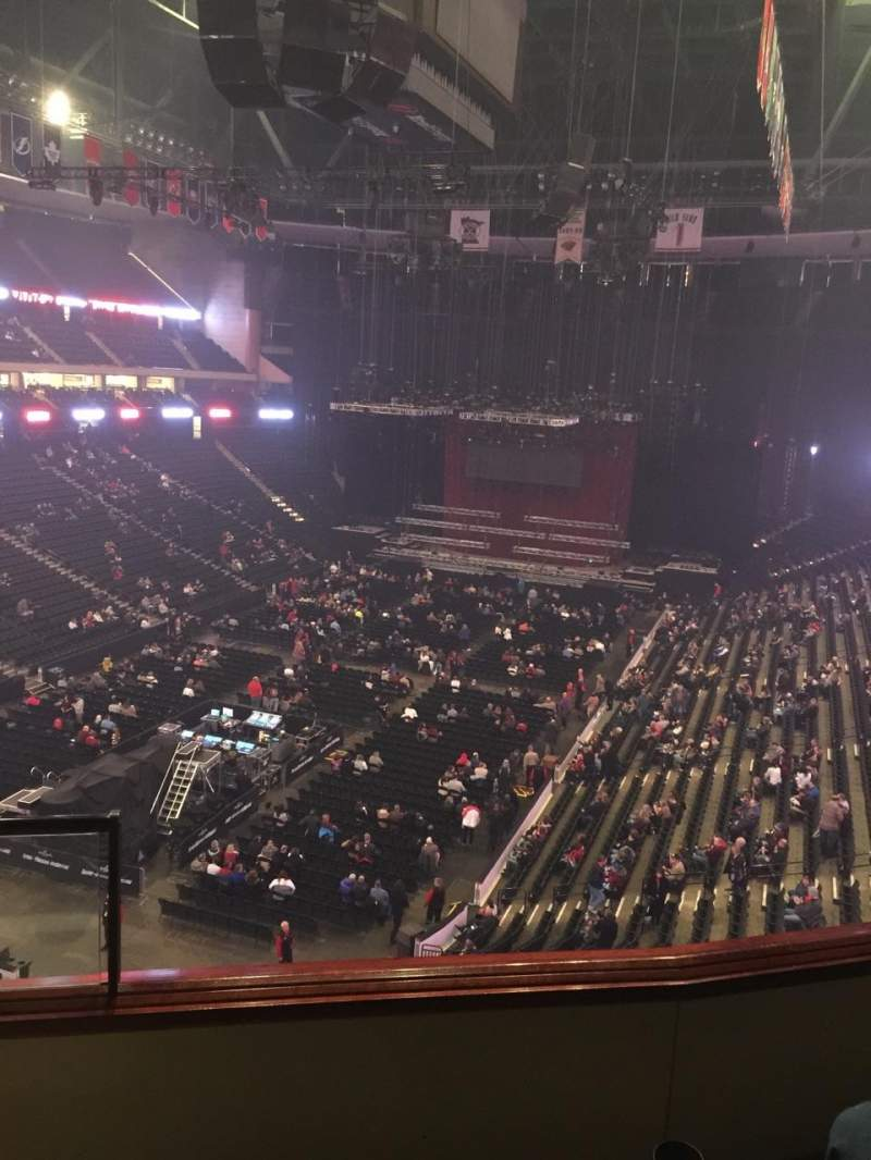 Seating view for Xcel Energy Center Section C13 Row 3 Seat 13