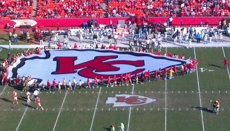 Seating view for Arrowhead Stadium Section 324