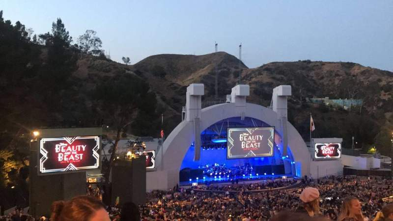 Hollywood Bowl, section: P2, row: 12, seat: 114