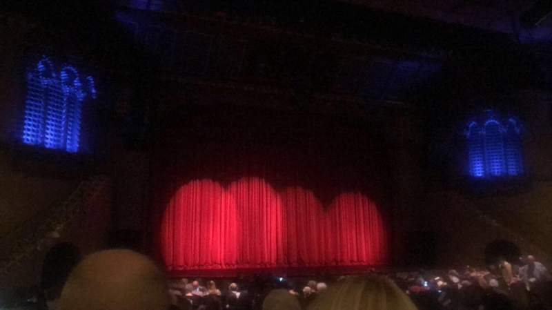 Seating view for Fox Performing Arts Center Section ORCHL Row U Seat 13