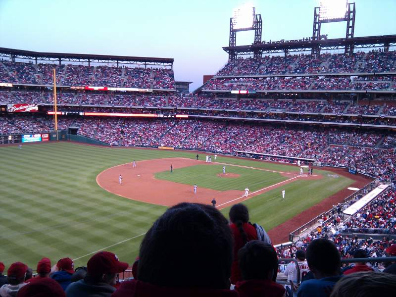 Seating view for Citizens Bank Park Section 234 Row 10 Seat 4