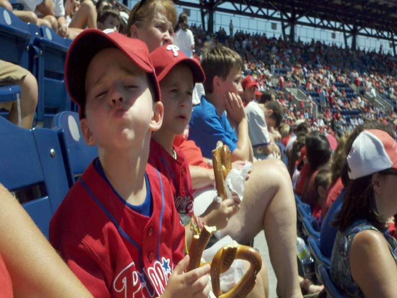 Seating view for Citizens Bank Park Section 303 Row 5 Seat 3