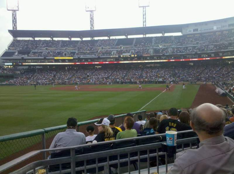 Seating view for PNC Park Section 131 Row C Seat 20