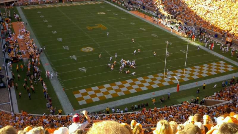 Seating view for Neyland Stadium Section Nn Row 12 Seat 28