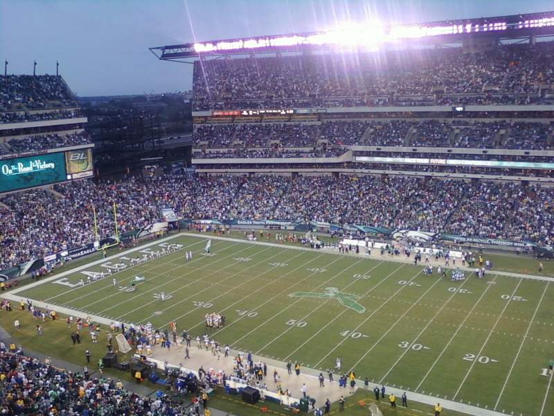 Seating view for Lincoln Financial Field Section 228 Row 9 Seat 15