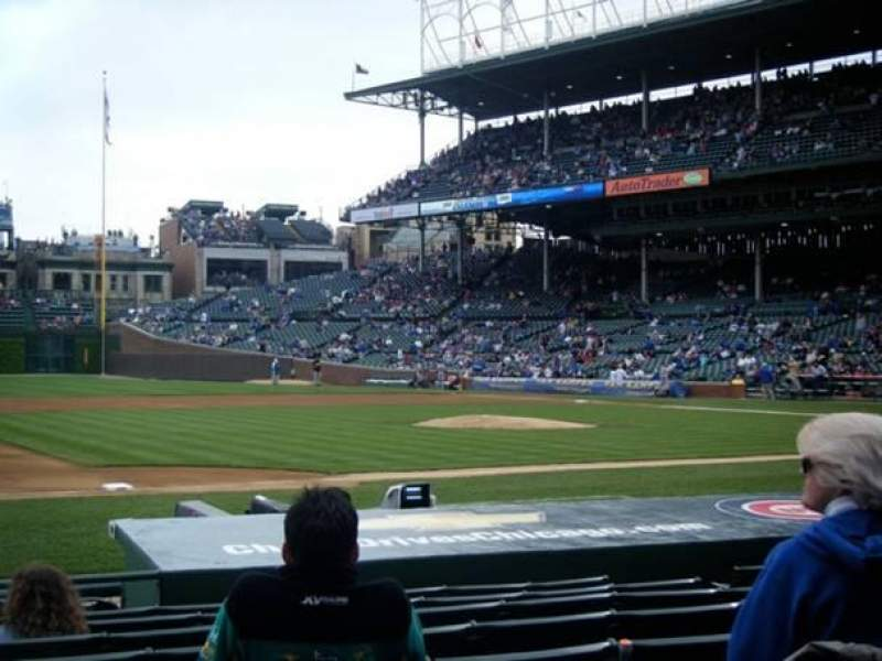 Seating view for Wrigley Field Section 9 Row 11 Seat 6