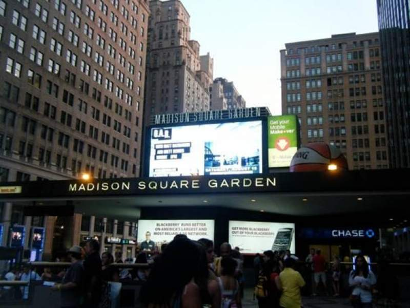 Seating view for Madison Square Garden Section 7th AVE