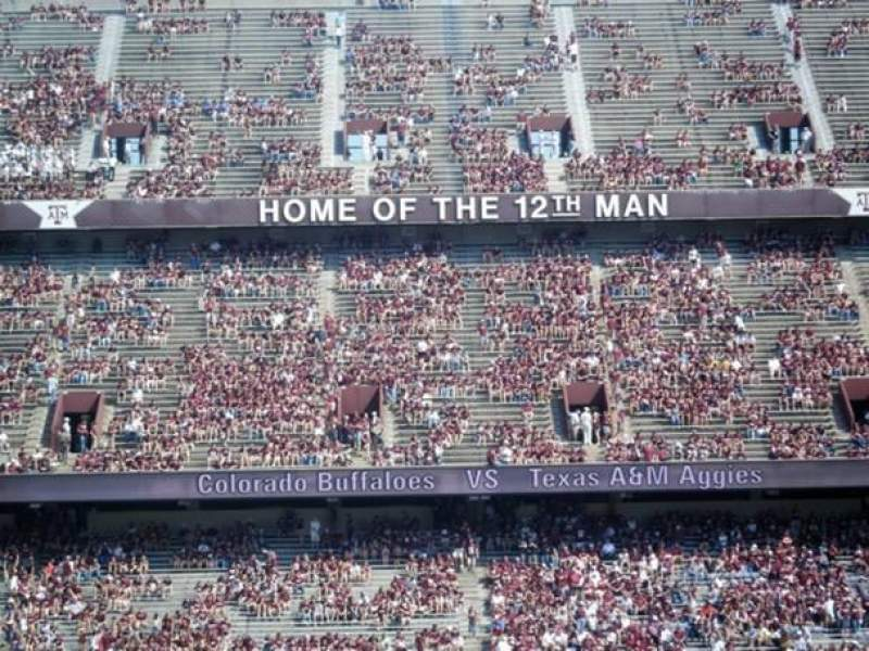 Seating view for Kyle Field Section 106