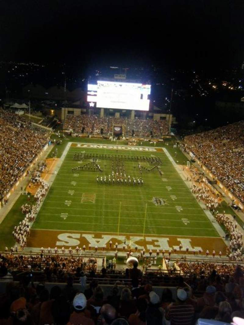 Seating view for Texas Memorial Stadium Section 116