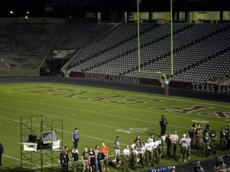 Seating view for Kyle Field Section 141