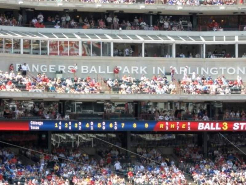 Seating view for Globe Life Park in Arlington Section 37 Row 20 Seat 15