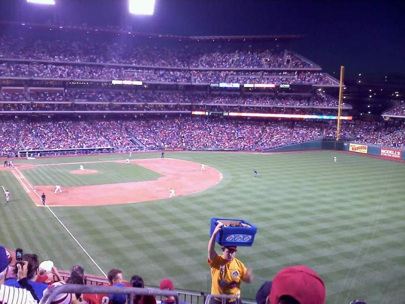 Seating view for Citizens Bank Park Section 206 Row 8 Seat 22