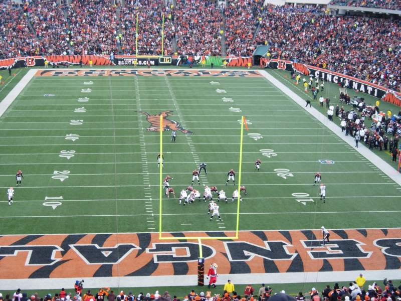 Seating view for Paul Brown Stadium Section 226 Row 4