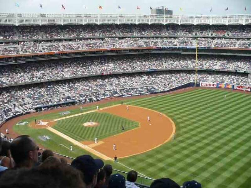 Seating view for Yankee Stadium Section 415