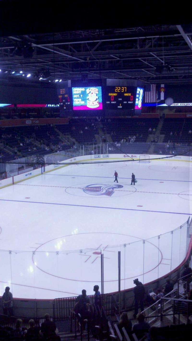 Seating view for 1stBank Center