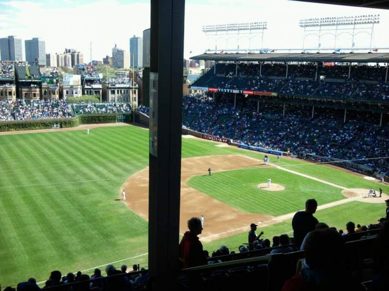 Seating view for Wrigley Field Section 407L Row 5 Seat 20