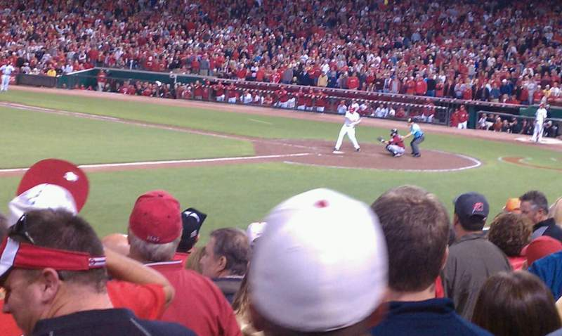Seating view for Great American Ball Park Section 115
