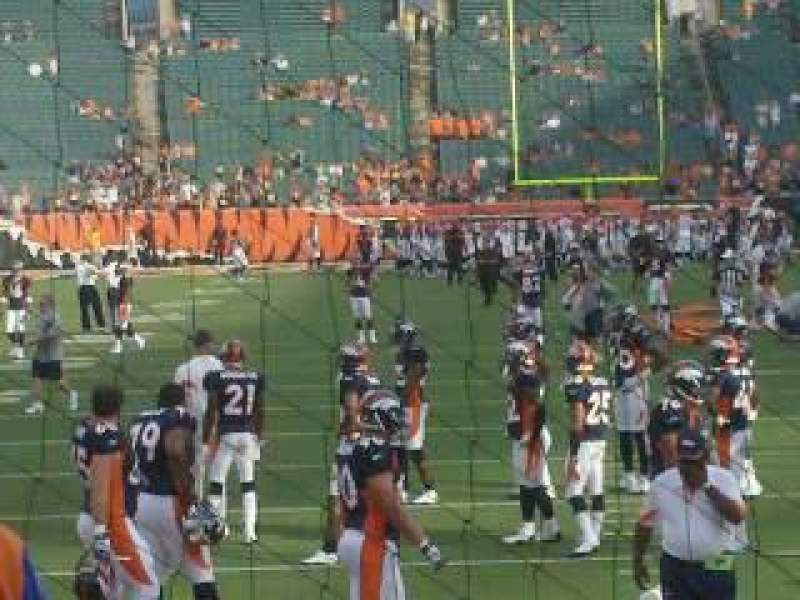 Seating view for Paul Brown Stadium
