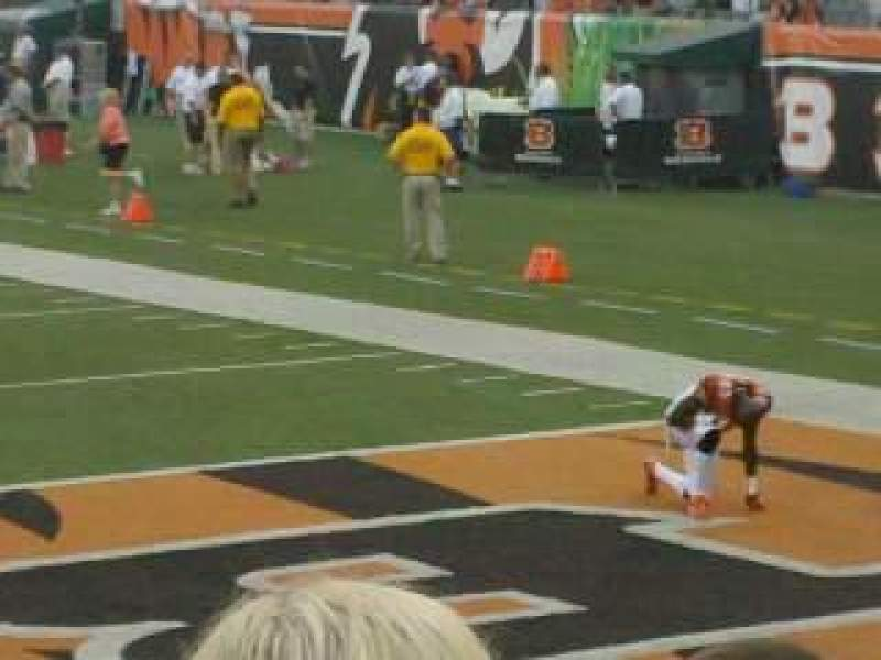 Seating view for Paul Brown Stadium Section 128