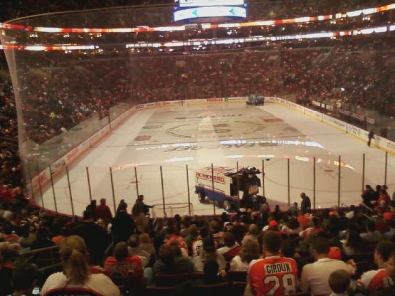 Seating view for Wells Fargo Center Section 119 Row 21 Seat 2