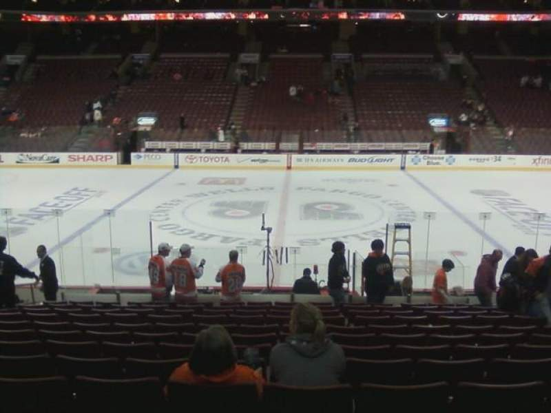 Seating view for Wells Fargo Center Section 113 Row 15 Seat 10