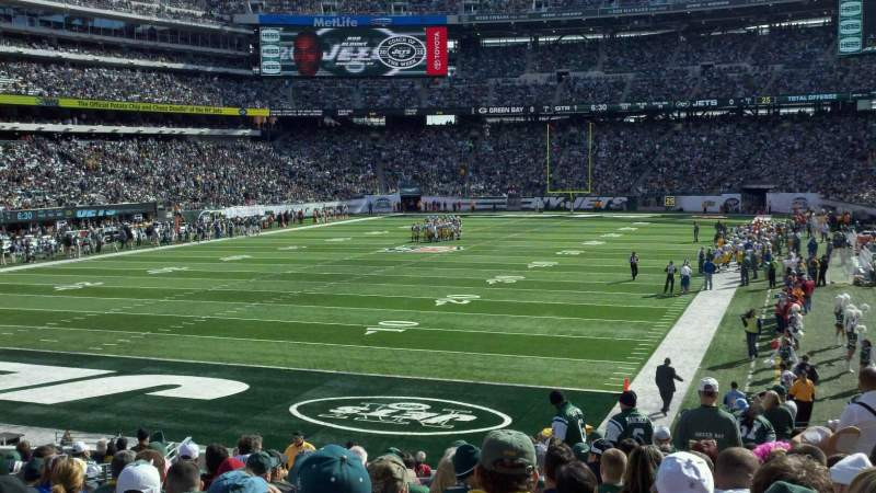 Seating view for MetLife Stadium Section 148 Row 22 Seat 17