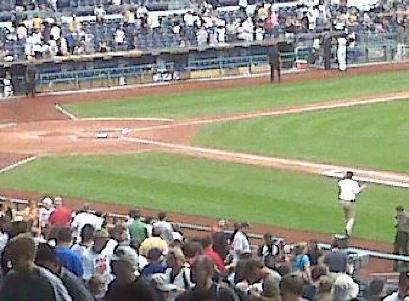 Seating view for PNC Park Section 107 Row 2