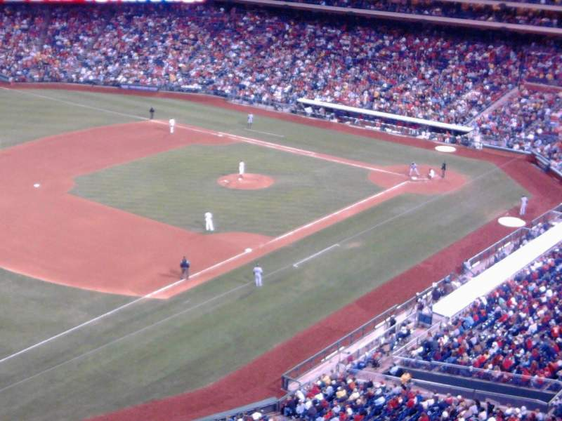 Seating view for Citizens Bank Park Section 431 Row 1